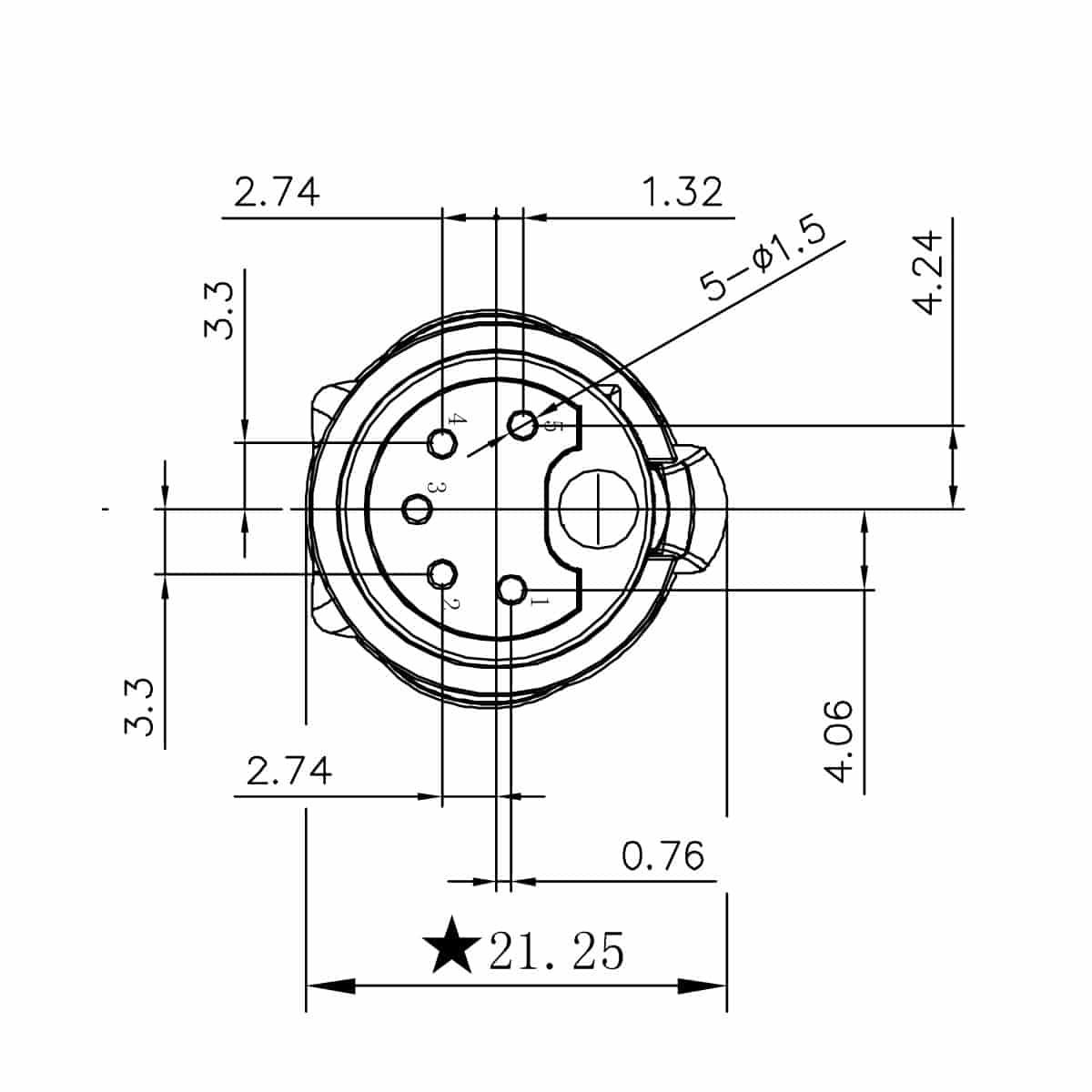 Enova Outdoor Xlr Cable Connector Waterproof Ip67 5 Pol