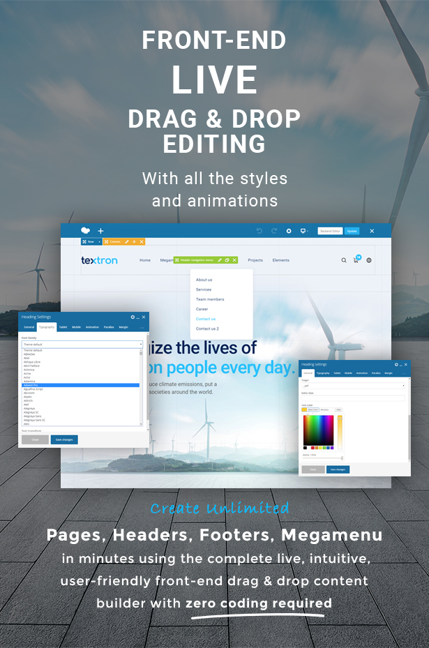 Textron - Industrial WordPress Theme + Woocommerce - 3