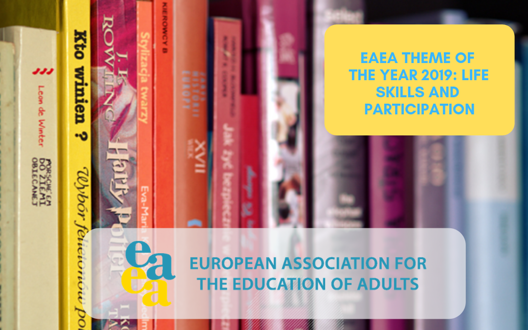 Life skills and participation – EAEA theme of the year 2019
