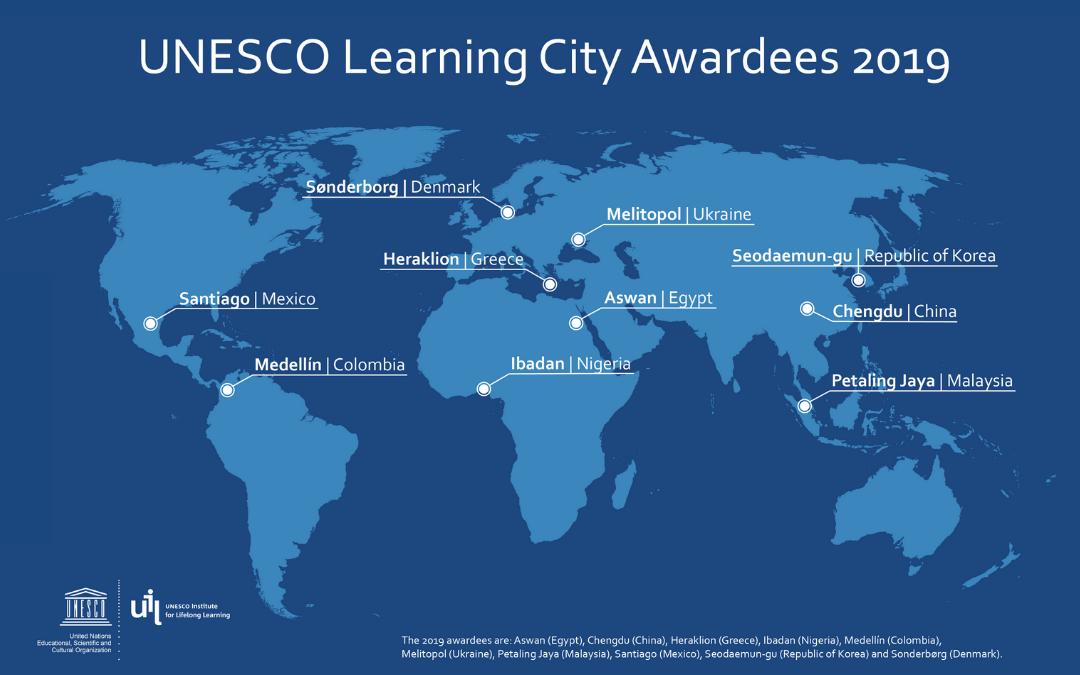 Podeljene nagrade UNESCO za najboljša učeča se mesta