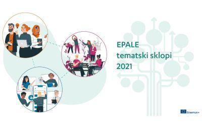 Tematski sklopi 2021 in spletna razprava na EPALE