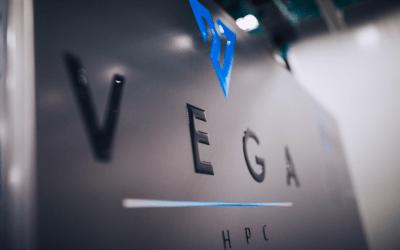 Zagon superračunalnika Vega v IZUM Maribor