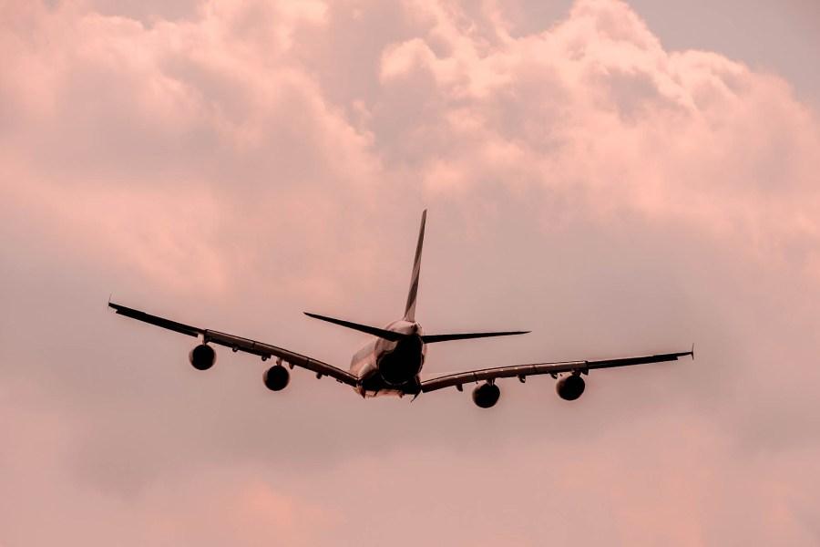 avion voyage destination