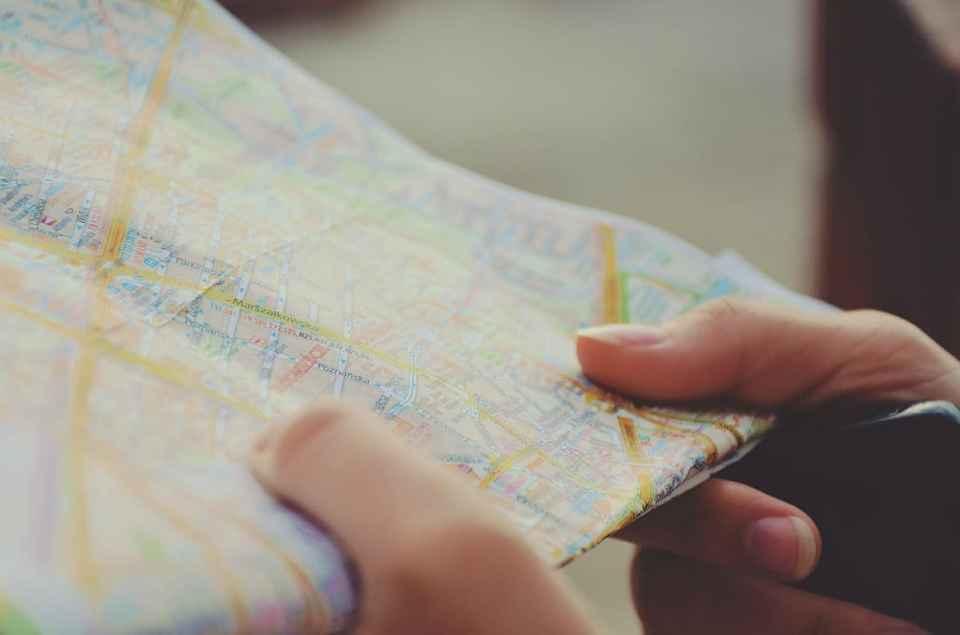 carte voyage guide destination