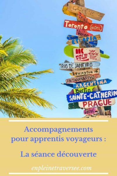 séance découverte coaching voyage tourisme vacances