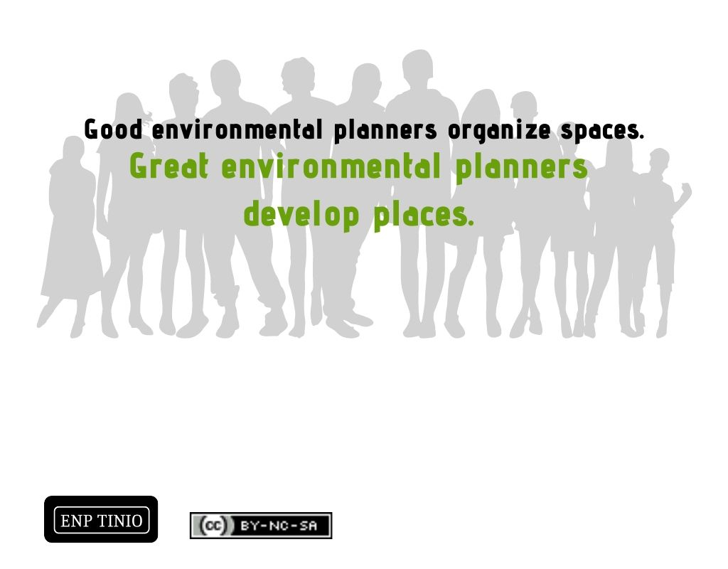 good and great environmental planners