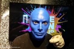 #bluemanselfie