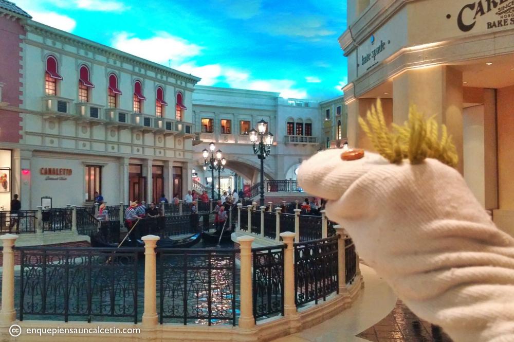 Hotel Venetian góndolas