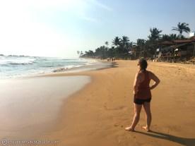 Playa paradisiaca antes de cenar.