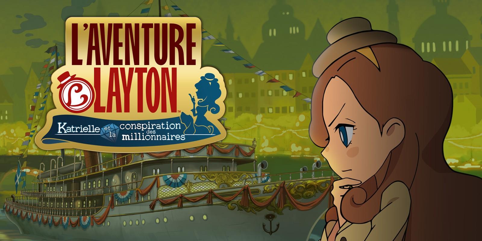 L'aventure Layton : Katrielle et la conspiration des millionnaires