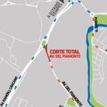 Desde el lunes se interrumpe el tránsito por la avenida de los boliches del Chateau
