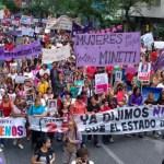 El sábado se realiza una nueva marcha contra la violencia de género