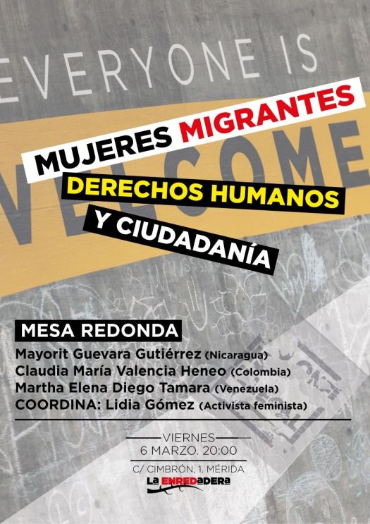 Mujeres migrantes derechos y ciudadanía