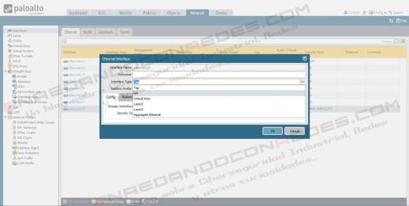 Configuration TAP Port Palo Alto Firewall