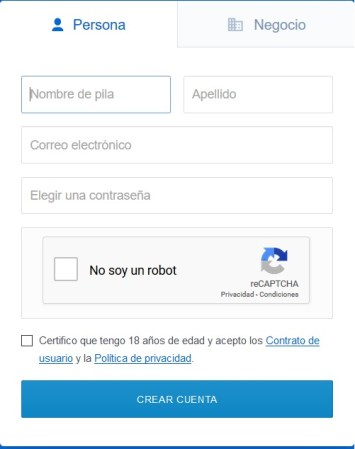 registrar cuenta coinbase
