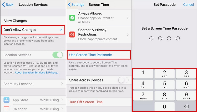 activar servicios localizacion en iphone