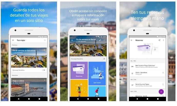 google trips planifica tus viajes