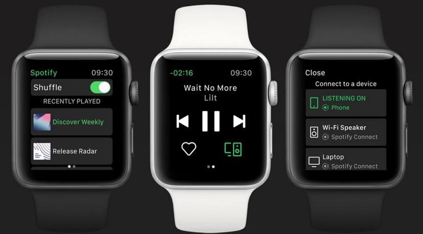 Cómo usar Spotify en Apple Watch