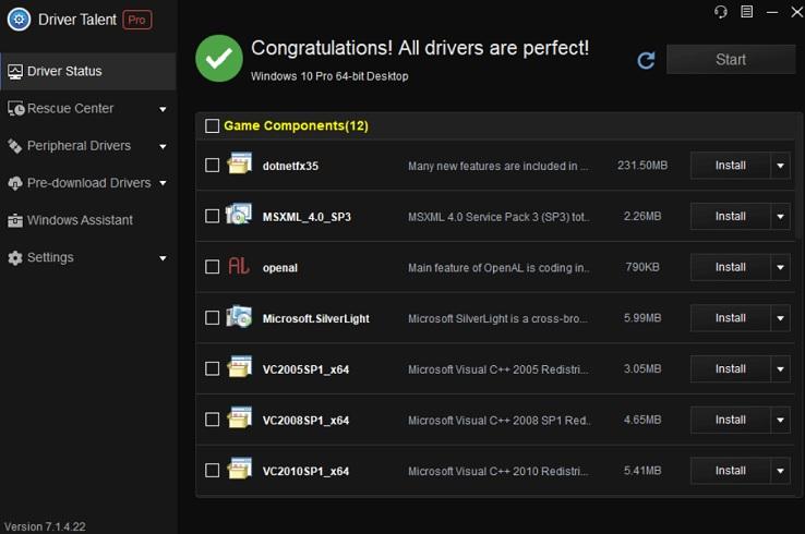 Driver Talent v7.1.27.76 Actualiza tus drivers a la última versión