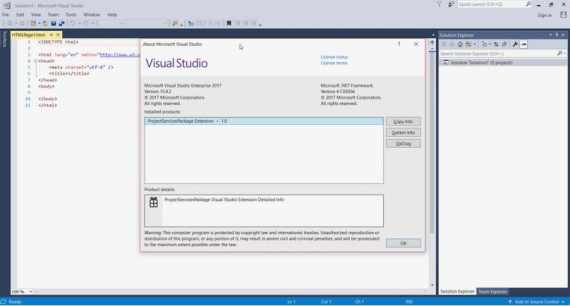 visual studio de microsoft