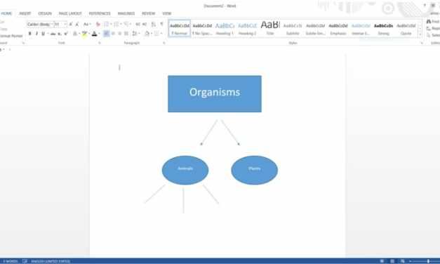 Aprende a crear un mapa conceptual en Word