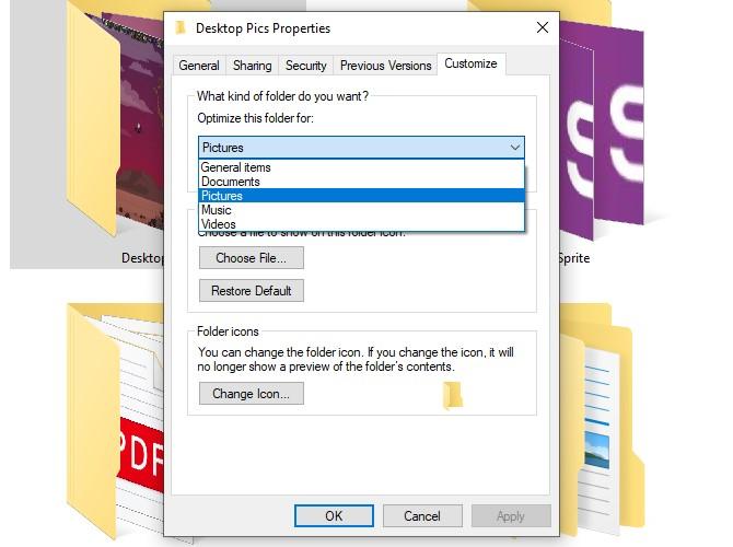 Move User Folders Optimize Folders