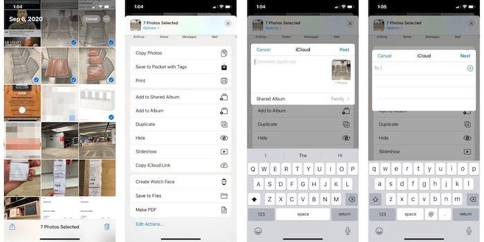 Cómo transferir fotos de Iphone Icloud Album