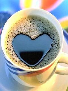 コーヒーカップに浮かぶ泡