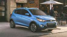 2017 Chevy Spark Activ is a Tiny Crossover That Works