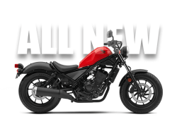 2017 Honda Rebel 300 - the First All-new Rebel, EVER