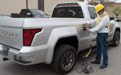 Workhorse CEO Steve Burns Talks About The W-15 Plug In Hybrid Pickup Truck