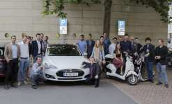 Cleantech Revolution Tour 2017 -- Electric Vehicle & Clean Energy Leaders, Tesla Shuttles, Cleantech Entrepreneurship & Investing