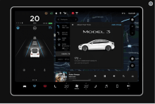 Tesla Model 3 Touch Screen Simulator, Pre-Launch Party Pep Talk
