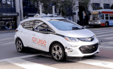 Cruise Claims First Production Ready Self Driving Car Title