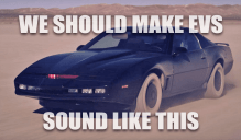 Electric Cars Should Sound Like KITT from Knight Rider