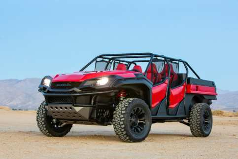 01 Honda Rugged Open Air Vehicle Concept