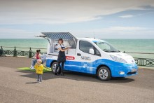 Nissan Launches Electric Ice Cream Truck ... for Kids!