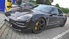 Video:  Electric Porsche Taycan Spied