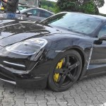 Porsche Taycan Spied in Video