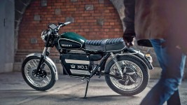 Retrotastic:  Meet the Regent Electric Motorcycle