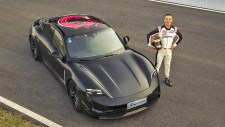Production-ready Electric Porsche Taycan Breaks Cover in China