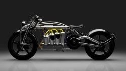 Curtiss Zeus is a Stunning, V8 Electric Motorcycle