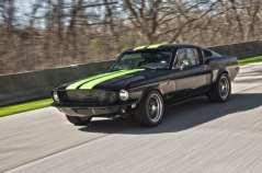 electric-1968-ford-mustang-fastback-on-the-road