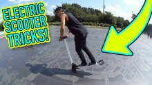 Sick Electric Scooter Tricks!