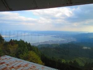 比叡山展望台からの眺め