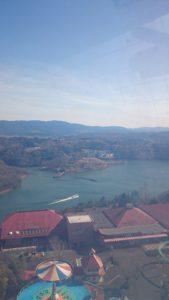 恵那峡ワンダーランド 観覧車からの眺め