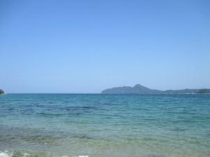 京丹後のオーシャンブルーの海