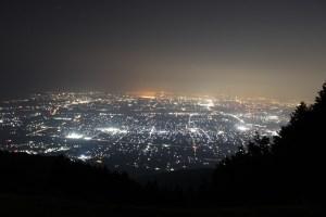 池田山 夜景