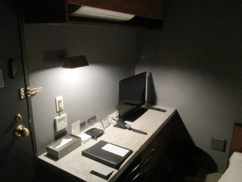 ONOMICHI U2の客室内