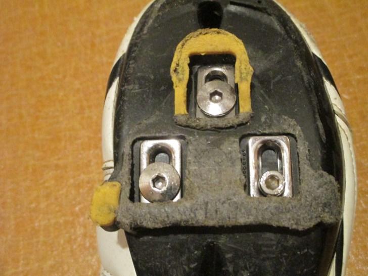 ビンディングシューズ クリート M5ボルト代用